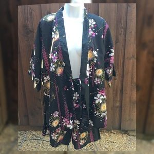 Japanese Kimono Short Set
